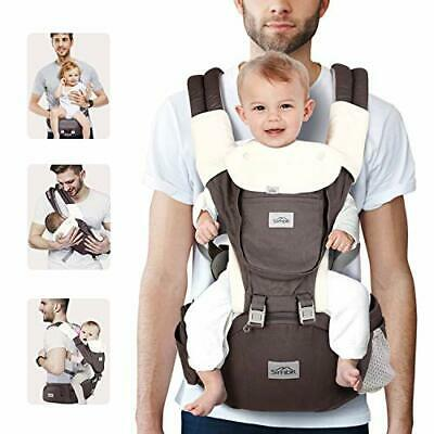 SIMBR Baby Carrier New-born To Toddler (infantine 3-36 Months) With Hip Seat, • 55.99£
