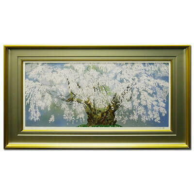 $ CDN5244.17 • Buy Products Chinami Nakajima Weeping Cherry Blossoms In Tsuboi Landscape Paintings