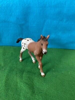 SCHLEICH Horse Retired Appaloosa Foal 13733 • 6.89£