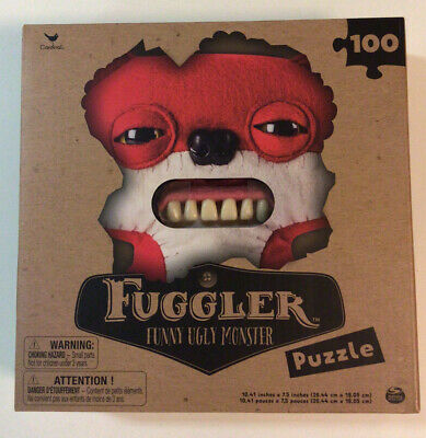 $ CDN5.07 • Buy Fuggler - Funny Ugly Monster - 100pc Puzzle - Red - New In Box