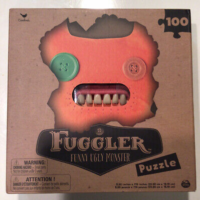 $ CDN5.07 • Buy Fuggler - Funny Ugly Monster - 100pc Puzzle - Orange - New In Box