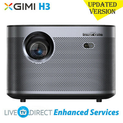 AU1415.74 • Buy XGIMI H3 Home Projector Android 3D Native 1080p HD 1900 ANSI Lumens