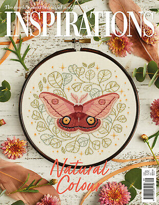 £8.95 • Buy Classic Inspirations Embroidery Magazine - Issue #109 (February'21) Inc P&P