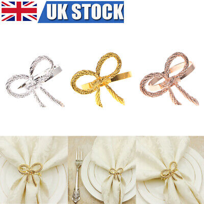 £10.99 • Buy 6/12Pcs Napkin Rings For Wedding Receptions Home Party Tableware Decoration