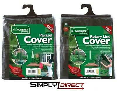 £4.10 • Buy Kingfisher Garden Furniture Waterproof Covers -Rotary Or Parasol Cover Available