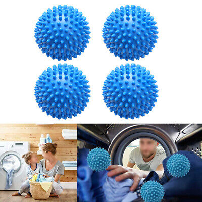 Washing Machine Dryer Laundry Balls Clothes Remove Dirt Dry Fabric Clean Cleaner • 8.29£