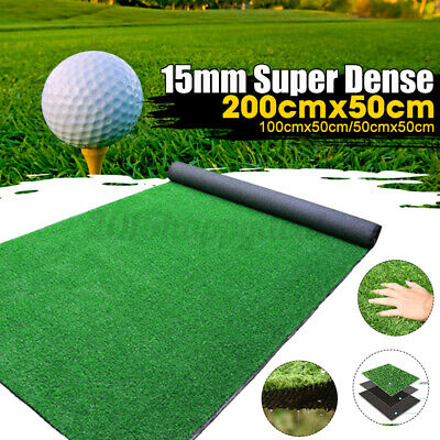 £9.99 • Buy Artificial Turf Grass Synthetic Realistic Indoor Outdoor Mat Fake Lawn