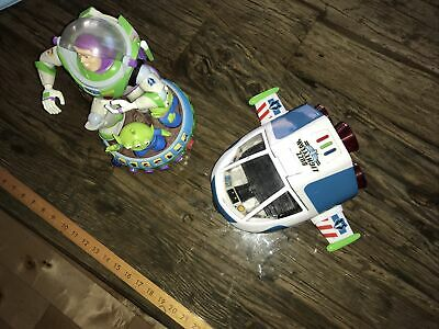 Buzz Lightyear Toys Spaceship And Animated Toy • 12£