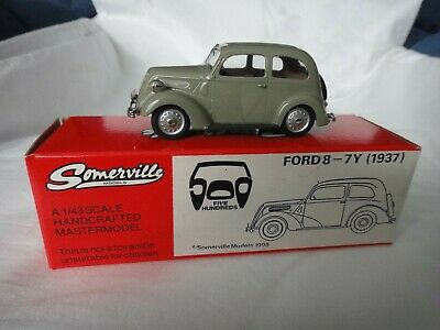 SOMERVILLE MODELS 1/43 SCALE No.503 1937 FORD 8-7Y + ORIGINAL BOX • 80£