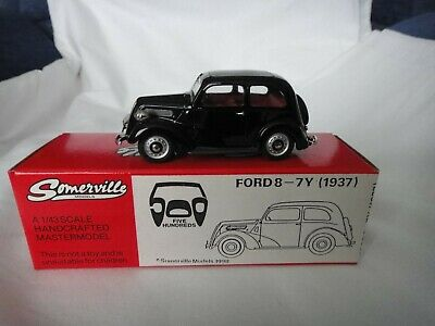SOMERVILLE MODELS 1/43 SCALE No.503 FORD8-7Y + ORIGINAL BOX • 75£