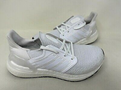 AU144.23 • Buy NEW! Adidas Women's Ultraboost 20 Running Shoes Lace Up White #EG0713 126Y Tz