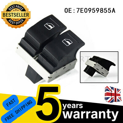 £6.75 • Buy Driver Side For VW Golf Transporter T5 T6 CaravelleWindow Double Switch Control