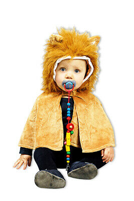 £13.47 • Buy Lions Cape Baby - Costume For Toddler - Animal Costume Carnival Shawl