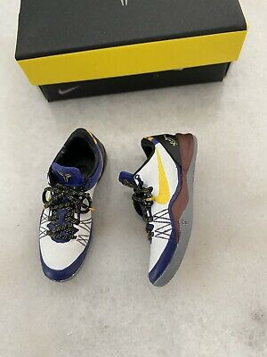 """$75 • Buy NEW 1/6 Custom Lakers Kobe Bryant """"Torn Achilles"""" Shoes ONLY For Enterbay"""