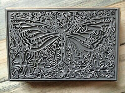 £10 • Buy Wood Mounted Rubber Butterfly Stamp