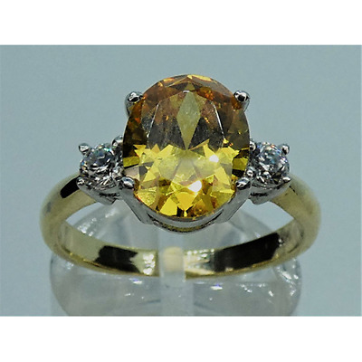 £26.42 • Buy Ladies Canary Yellow Ring- Gift Wrapped