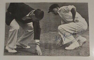 AU99 • Buy DON BRADMAN SIGNED 9 X 13cms Approx MAGAZINE PICTURE TO CARD CRICKET SIR DONALD