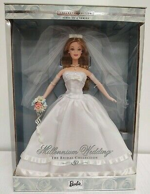 $53 • Buy 1999 Millennium Wedding Barbie The Bridal Collection First In A Series -Unopened