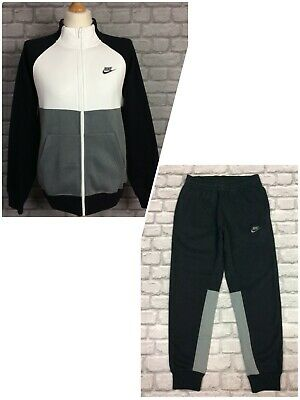£29.50 • Buy Nike Mens Grey White Black Chariot Track Top / Joggers  *sold Separately* Kl