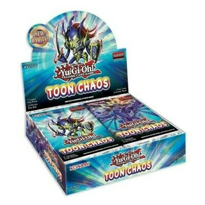 £230 • Buy Toon Chaos Booster Box Of 24 1st Edition Packs Sealed (Yugioh)