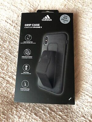 AU27.03 • Buy Brand New: Adidas IPhone X Grip Case Black