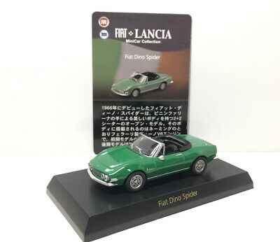 £13.72 • Buy Kyosho 1/64 FIAT Lancia Collection Fiat Dino Spider Diecast Car Model Green