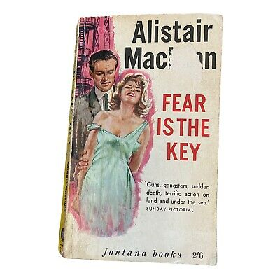 £15 • Buy Alistair Maclean Fear Is The Key 790 Paperback Rare Cover Fontana Books 1963