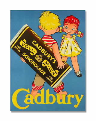 £6.75 • Buy Cadbury Metal Sign Retro Vintage Office Bathroom  Kitchen