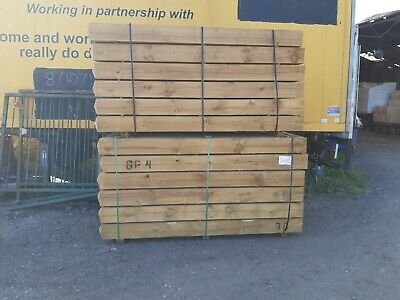 £44.50 • Buy  GATE POST 175X175X2.4 WEATHERED TOP TREATED COLLECT OR DELIVERED 7 X7 X8foot