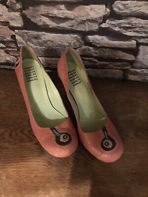 £20 • Buy Harlot Beautiful And Rare Pink Apple Cute Ladies Shoes Size 41 (8)