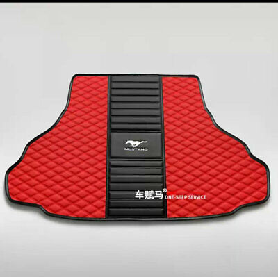 $65 • Buy For Ford-Mustang-2005-2021-Car Trunk Mat