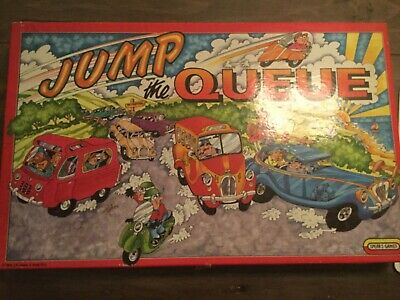 £15 • Buy Vintage  Board Game~ JUMP THE QUEUE ~ Complete Spears Games