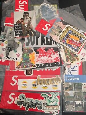 $ CDN55.14 • Buy Lot Of 11 Sealed Supreme Sticker Packs Captcha Verify Naomi Teeth