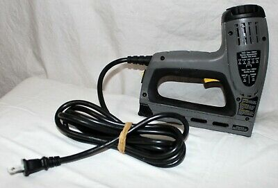 £19.49 • Buy Stanley TRE550 Electric Staple/Brad Nail Gun Low Use Tested Nice Shape