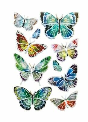 AU6.95 • Buy 10 Handmade Butterfly Wall Decal 3D Sticker Kids Nursery Decoration Removable