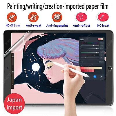 AU17.95 • Buy Paper Like Screen Protector Film For IPad Air4/12.9 /7/8th Pro 3/4th Gen Mini4/5