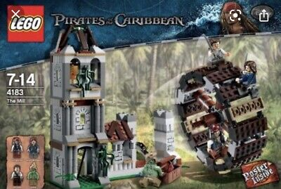 £99.99 • Buy Rare Lego Pirates Of The Caribbean, Set 4183, Pre-owned, The Mill, 100% Complete