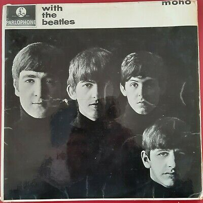 £40 • Buy The Beatles - With The Beatles - First Issue Xex 447/448-1n Vg(-)  Pmc 1206 Mono