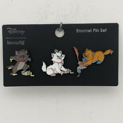 $ CDN31.48 • Buy Disney Loungefly The Aristocats Painting 3 Pin Set - Marie Berlioz & Toulouse