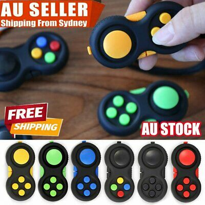 AU9.94 • Buy 3D Hand Fidget Pad GC Children ADHD/Anxiety Cube Toy Time Killing Finger Toys ZV