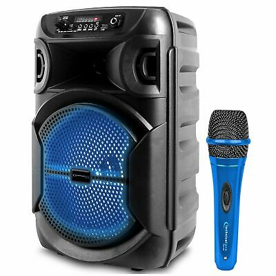 $64.99 • Buy Tpro Portable 1000 Watts Bluetooth Speaker W/ Woofer And Professional Microphone