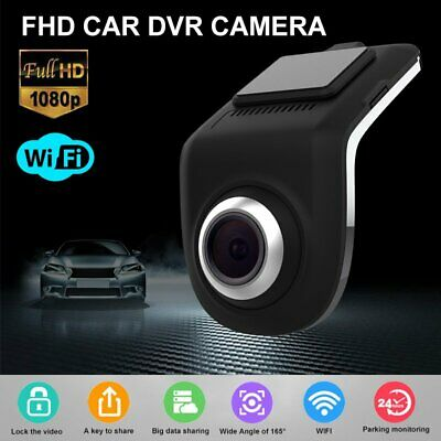 AU38.99 • Buy HD 1080P WIFI Car Hidden Camera Dash Cam Dual Lens DVR G-Sensor Video Recorder