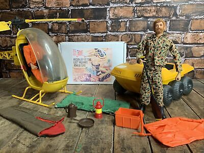 $ CDN376.59 • Buy 1972 GI JOE LOT ADVENTURE TEAM Recovery Of The Lost Mummy / Vehicles & Figures