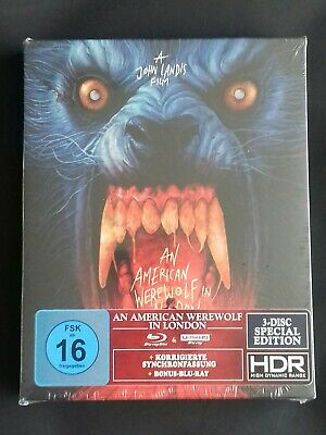 £74.99 • Buy AN AMERICAN WEREWOLF IN LONDON 4k Uhd + Blu Ray 3 Disc Special Edition - Import