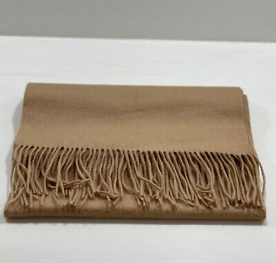 £15 • Buy Pure Cashmere Mens Camel Scarf