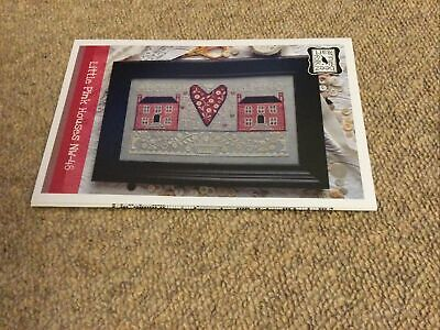£9.35 • Buy Little Pink Houses Cross Stitch Chart By Annie Beez Folk Art