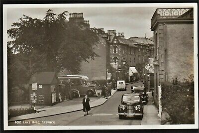 £15.95 • Buy KESWICK Postcard Lake Road With Old Coaches & Cars