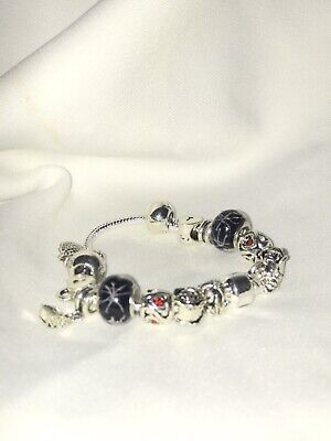 £9.99 • Buy 18 Cm Charm Braclet With Charms