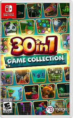AU49 • Buy 30 In 1 Game Collection Nintendo Switch Brand New Sealed