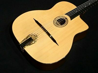$1738 • Buy Aria Pro MM-100 1956 Maccaferri Style Natural Acoustic Guitar Dot Inlays